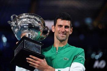 Novak Djokovic, nuevamente imparable en Australia