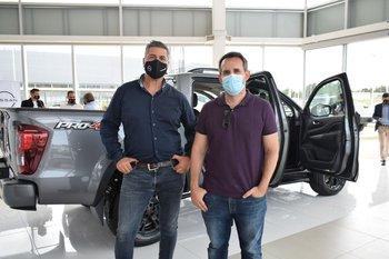 Javier Quiroga y Sebastian Cánovas