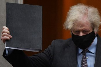 Boris Johnson, primer ministro del Reino Unido