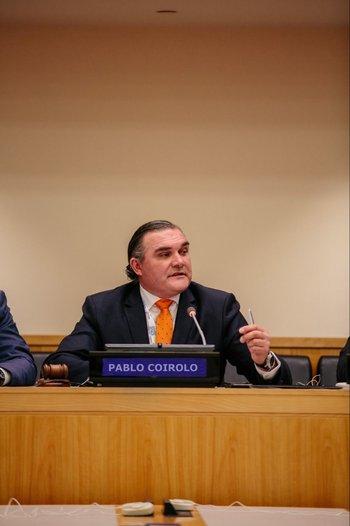 Pablo Coirolo está instalado en Suiza desde hace más de 10 años