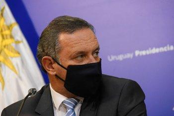Álvaro Delgado participó este jueves en una jornada organizada por la Comisión Departamental de Jóvenes del Partido Nacional para que hiciera un balance del primera año de gobierno