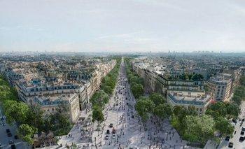 Francia busca convertir los Campos Elíseos en jardines para el verano de 2024