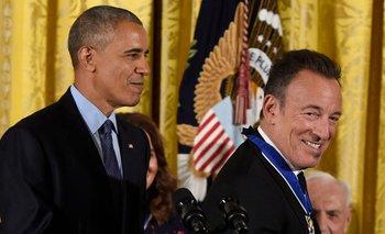 Obama y Springsteen se conocieron durante la campaña presidencial de 2008