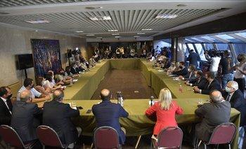 Reunión de los legisladores de la coalición