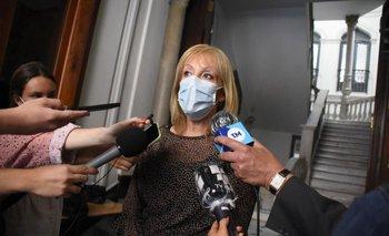 Carolina Cosse se reunió con la bancada del Frente Amplio en la Junta Departamental