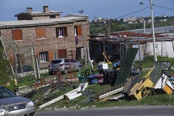 El barrio 19 de Abril se ubica en la zona oeste de Montevideo