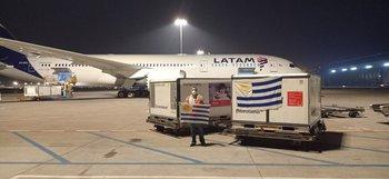 El avión de carga de Latam sobrevuela a estas horas el océano Pacífico