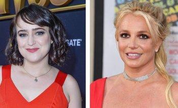 Mara Wilson y Britney Spears