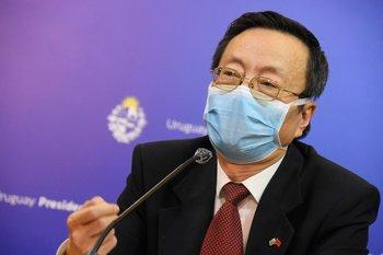 Wang Gang, embajador de China en Uruguay
