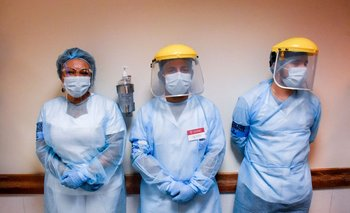 En enero el BPS subsidió por covid-19 a 6.652 funcionarios de la salud