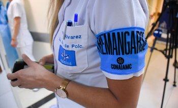 Vacunación contra el covid-19 en la Médica Uruguaya (Montevideo)