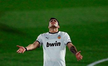 Maxi Gómez cierra un mal año en Valencia