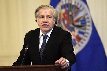 """Almagro sostuvo que esto se suma a la """"previa existencia de presos políticos"""" en Nicaragua"""