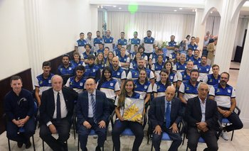 Los deportistas que irán a los Juegos Suramericanos de Playa de Rosario