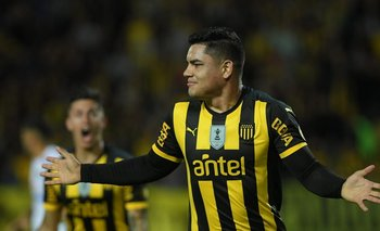 Gabriel Fernández, anotó el gol 100 del Apertura 2019