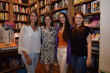 Ana Inés Maranges, Maren Torheim, Veronica y Matilde Caputo