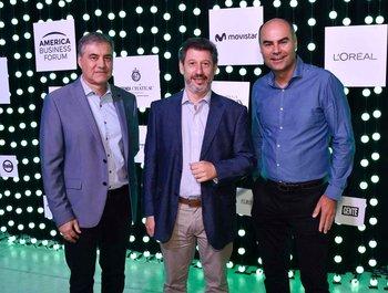 José Pedro Derregibus, Marcelo Tarakdjian y Fernando Leis