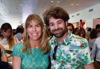 Lucia Barbosa y Oliver Garland