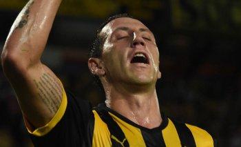 Cristian Lema por ahora no retornará a Peñarol