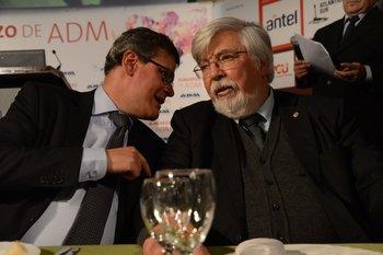 Díaz y Bonomi fueron consultados por la baja de los delitos, este miércoles en el Parlamento
