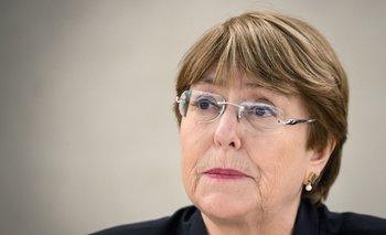 Michelle Bachelet, Alta Comisionada de las Naciones Unidas por los Derechos Humanos y exvicepresidenta de Chile