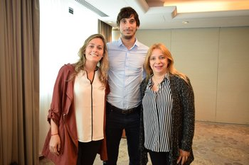 Macarena Pereira, Andres Massa y Zoa Tambasco
