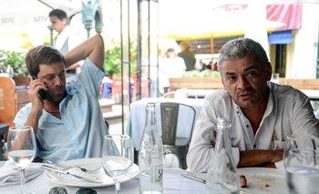 Ignacio Alonso, presidente de la AUF, y Marcelo García, presidente del Consejo Único Juvenil