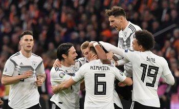 Alemania, inició el camino de la Eurocopa, con victoria 3-2 ante Holanda, en Ámsterdam
