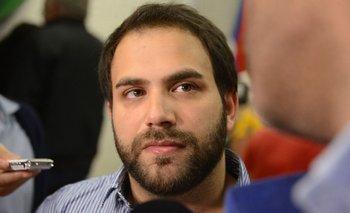 El secretario general del Partido Socialista, el diputado Gonzalo Civila
