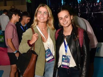 Delfina Bolazzi y Fiorella Rolando