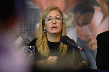 Jara fue presidenta de Ancap entre 2016 y 2020.