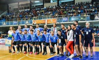 Equipo y cuerpo técnico de Uruguay