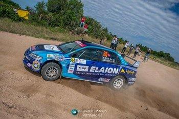Volvieron al rally y ya ganan una carrera: Beltrán/Fripp