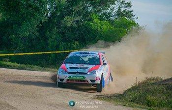 Casella/Martínez sorprendieron con un muy veloz Ford Focus