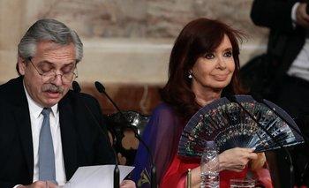 Alberto Fernández y Cristina Fernández, presidente y vicepresidenta de Argentina.