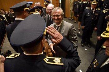 El 2 de marzo de 2020 los jefes de Policía asumían en Torre Ejecutiva