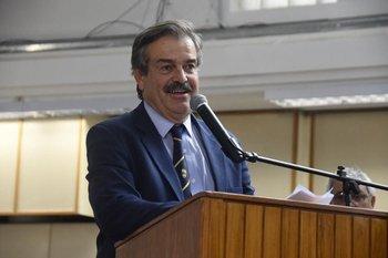 Carlos María Uriarte, dedicó gran parte de su discurso para agradecer.