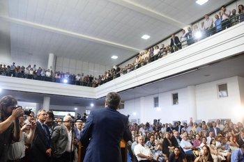 La celebración se desarrolló en el hall principal del Ministerior de Ganadería Agricultura y Pesca.