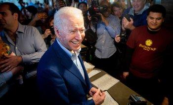El exvicepresidente de Barack Obama, Joe Biden, aspira a ser candidato a presidente por los demócratas