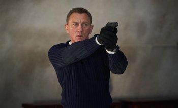 Daniel Craig como James Bond en Sin tiempo para morir, su última película