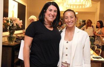 Melisa Franco y Mariana Areosa