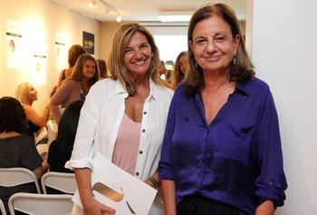Patricia Varela e Inés Bervejillo