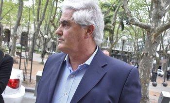 Agustín Bascou, antes de someterse al Comité de Ética del Partido Nacional