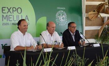Rafael Ferber, Gabriel Capurro y Fernando Nopitsch.