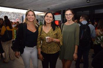 Daiana Méndez, María Larrosa y Laura Dorta
