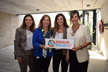 Gabriela Molla, Sofia Salvagno, Mariana Chilibroste y Magdalena Furtado