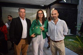 Mario Beira, Susana Fernández Botti y Diego Migueles