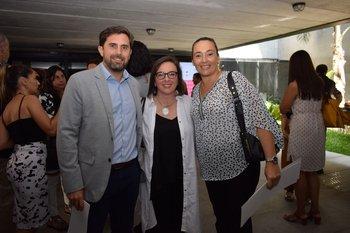 Pablo Chiesa, Lujan Rodríguez y Roxana Colombo