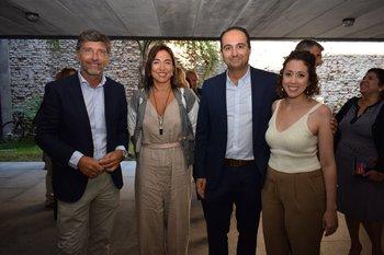 Pablo Márquez, Milena Guillot, Juan Carlos Raffo y  Karina Keosseian