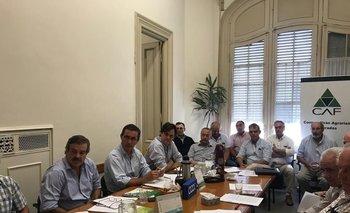 El encuentro se desarrolló en la sede de CAF en Montevideo.
